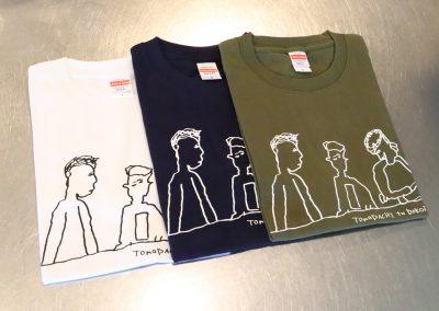Tシャツ(友達)白・紺・カーキ