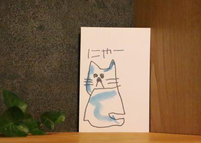ポストカード(ねこ)