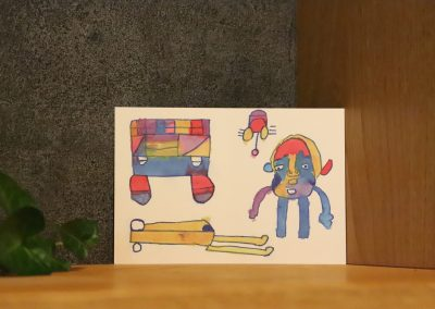 ポストカード(ロボット)
